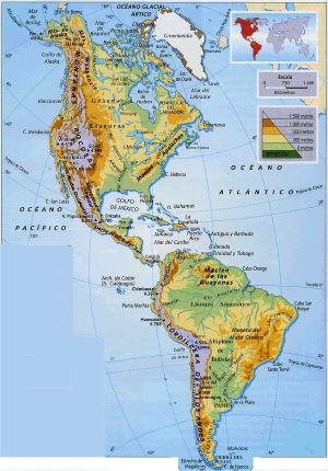 mapa de paises de america para gps garmin